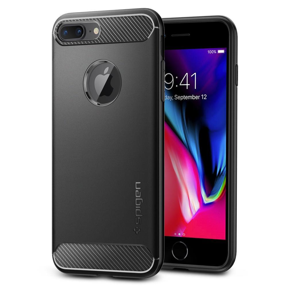 iPhone 7 Plus/8 Plus Rugged Armor Case Black