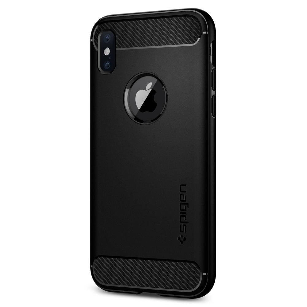 iPhone X/XS Rugged Armor Case Black