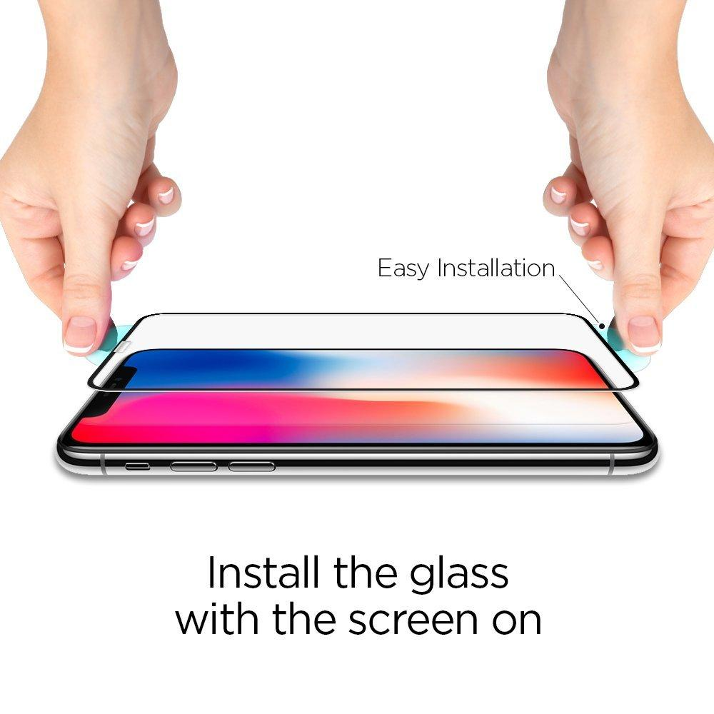 iPhone X/XS/11 Pro Full Cover Screen Protector GLAS.tR SLIM HD