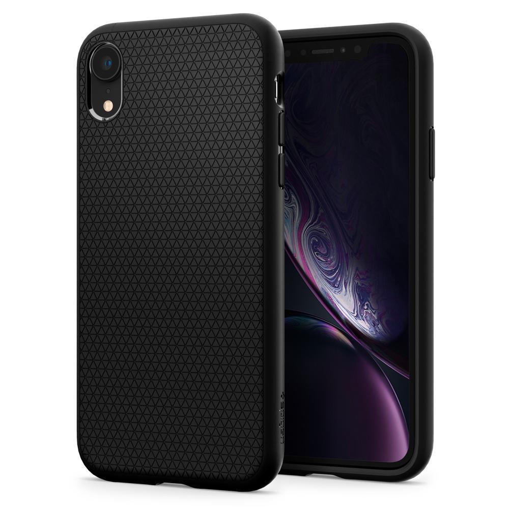 iPhone XR Case Liquid Air Black
