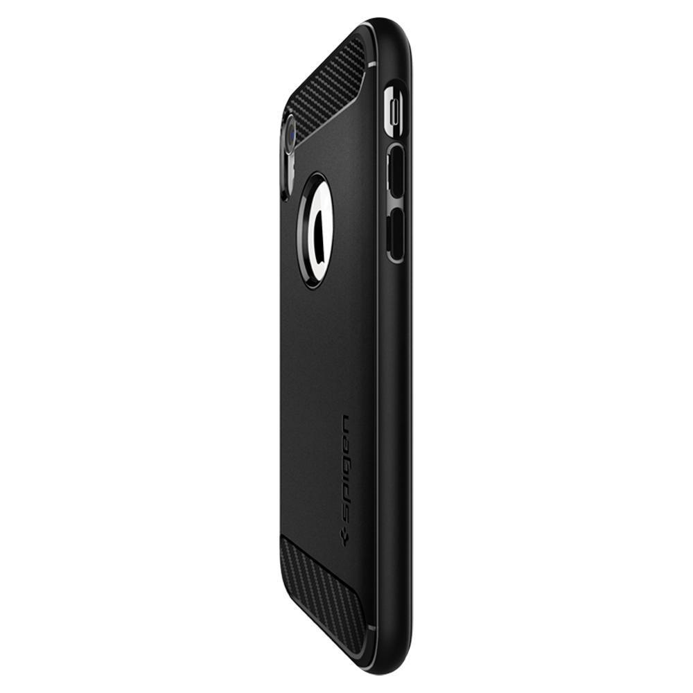 iPhone XR Case Rugged Armor Black