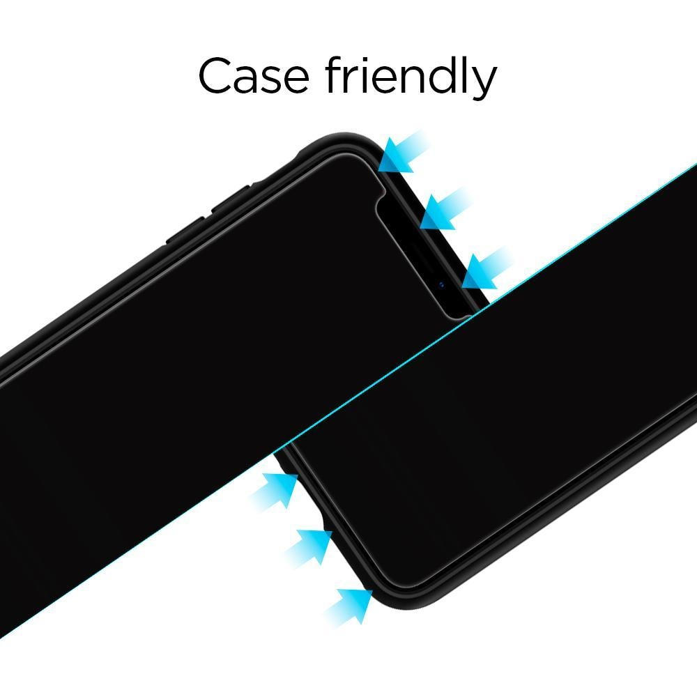iPhone XR/11 Screen Protector GLAS.tR SLIM HD