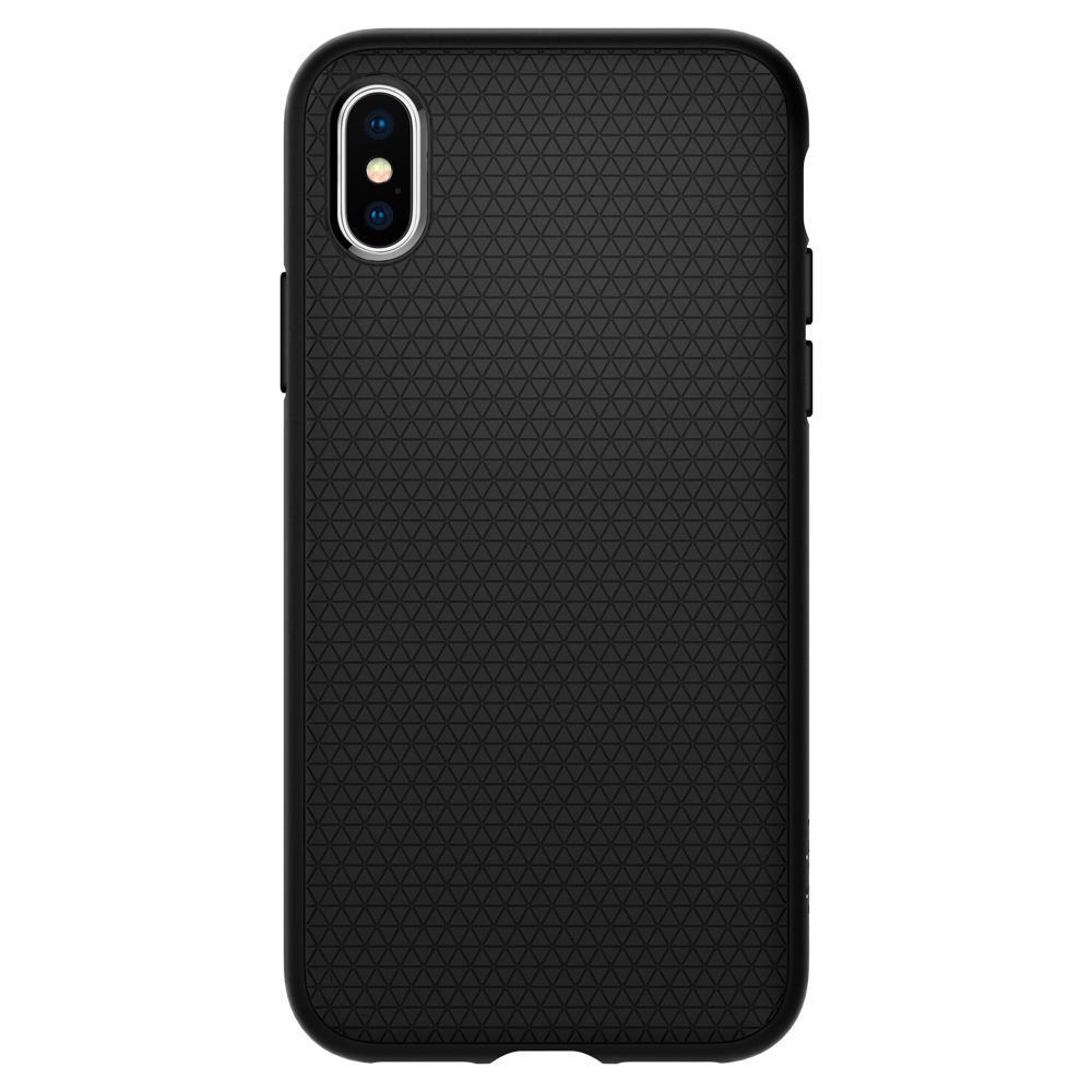 iPhone X/XS Case Liquid Air Black