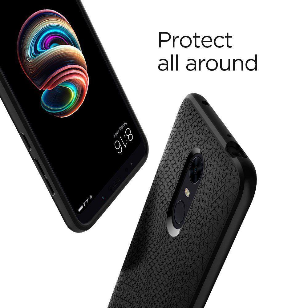 Xiaomi Redmi 5 Plus Case Liquid Air Black