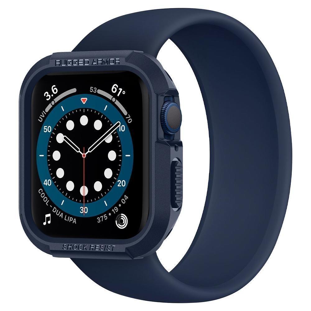 Apple Watch 44mm Case Rugged Armor Navy Blue