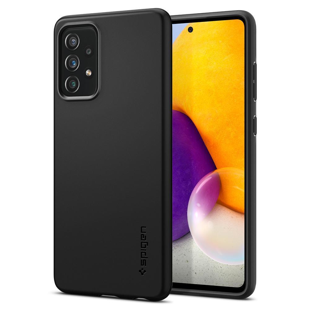Galaxy A72 5G Case Thin Fit Black