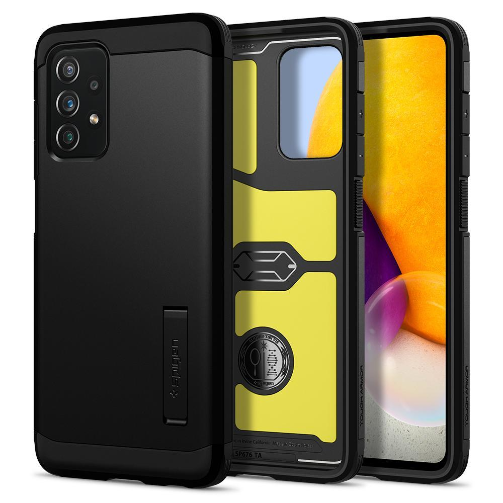Galaxy A72 5G Case Tough Armor Black