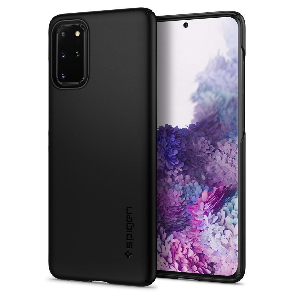 Galaxy S20 Plus Case Thin Fit Black