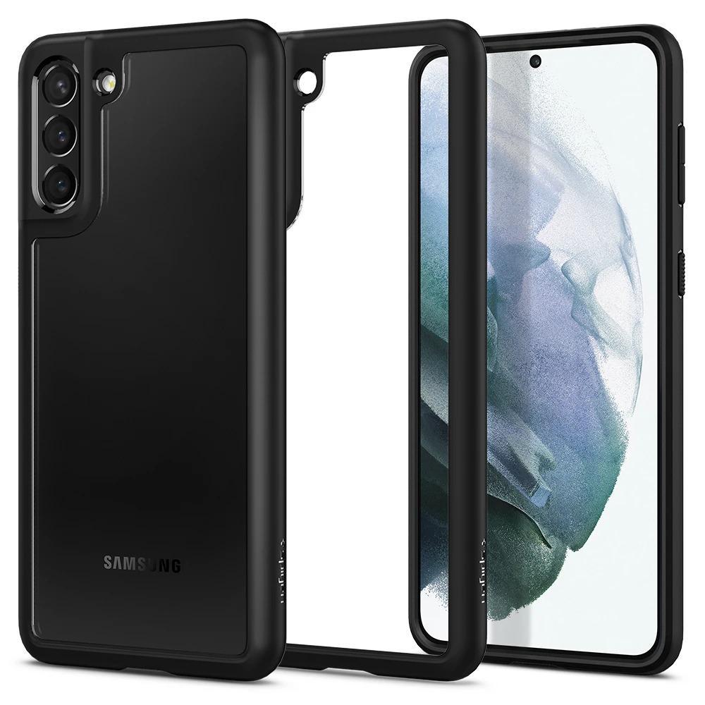 Galaxy S21 Plus Case Ultra Hybrid Matte Black