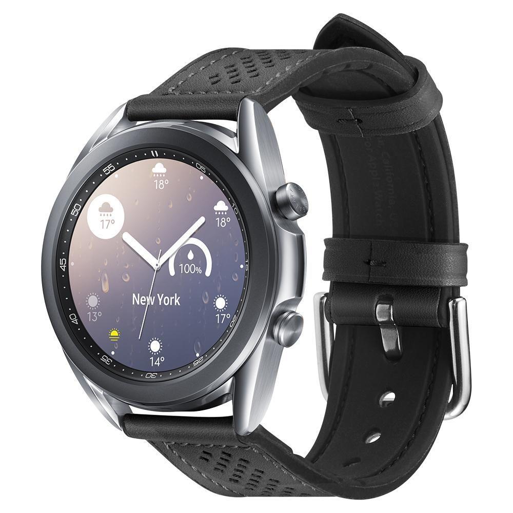 Galaxy Watch 3 41mm Armband Retro Fit Black