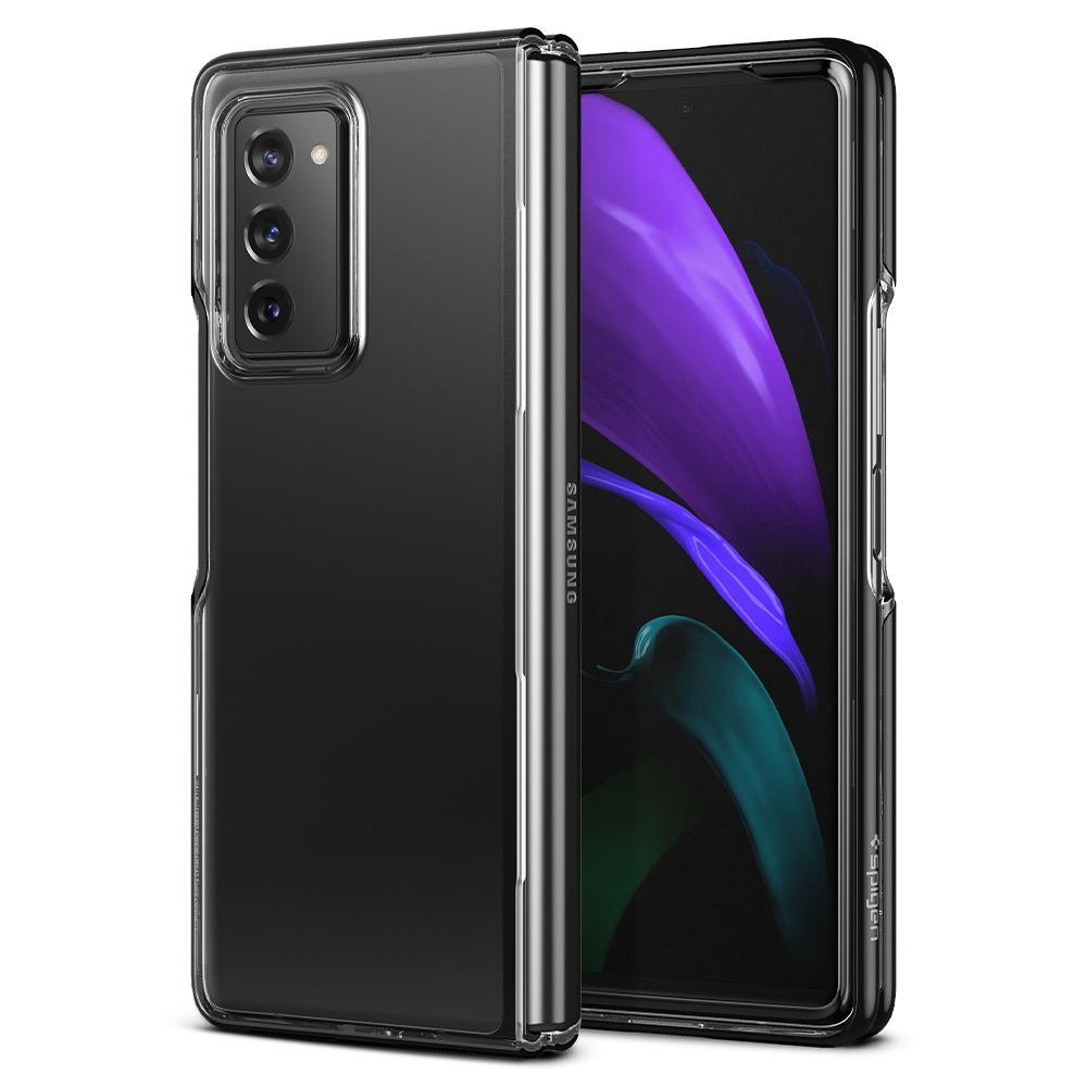 Galaxy Z Fold 2 5G Case Ultra Hybrid Midnight Black