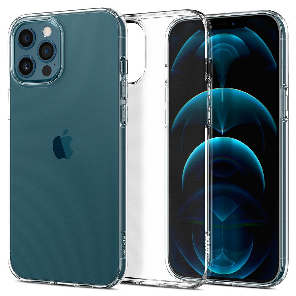 iPhone 12/12 Pro Case Liquid Crystal Clear