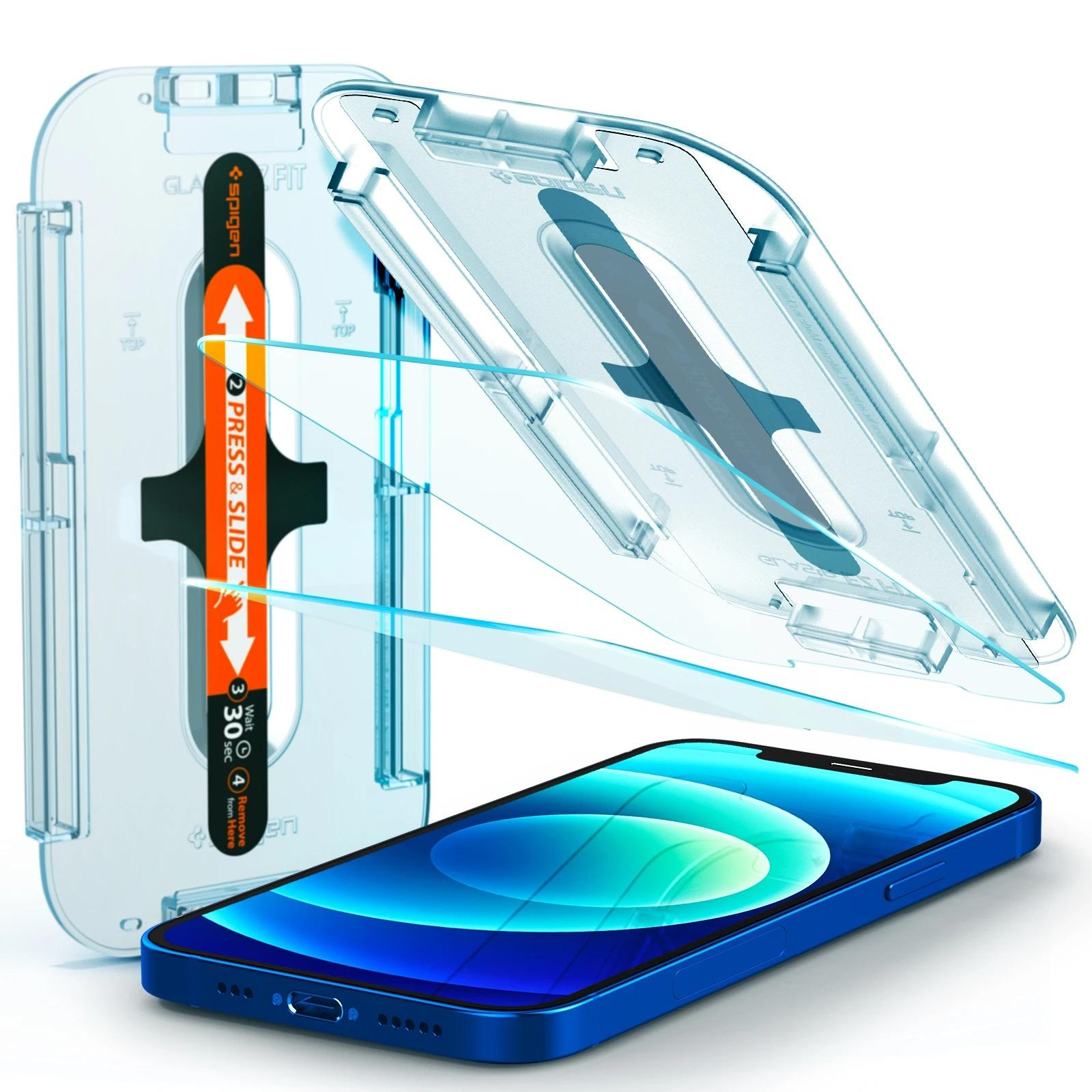 iPhone 12/12 Pro Screen Protector GLAS.tR EZ Fit (2-pack)
