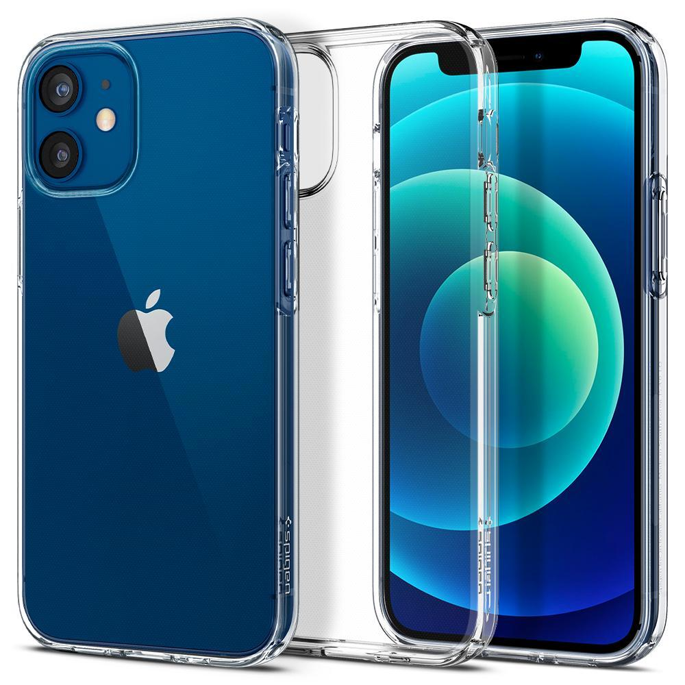 iPhone 12 Mini Case Liquid Crystal Clear