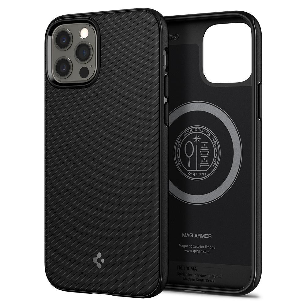 iPhone 12 Pro Max Case Mag Armor Black