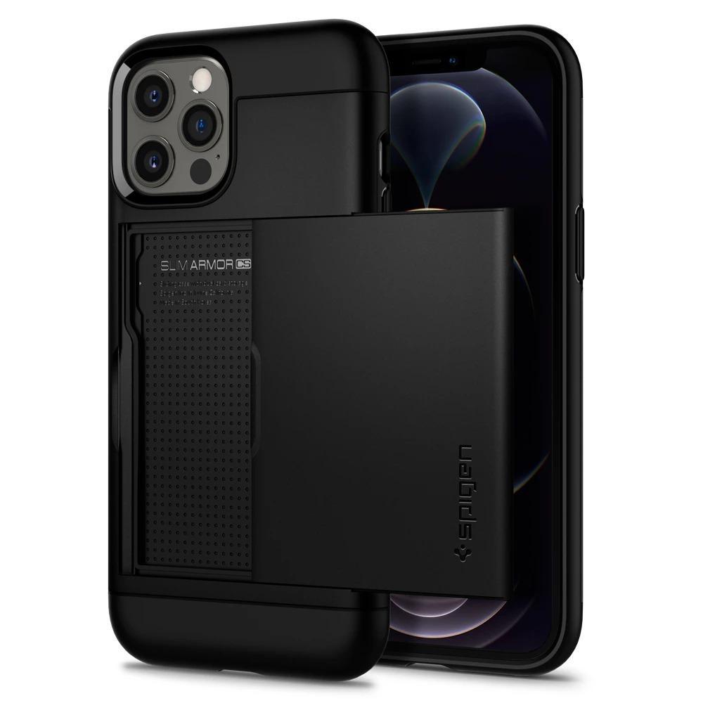 iPhone 12 Pro Max Case Slim Armor CS Black