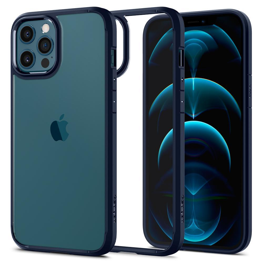 iPhone 12 Pro Max Case Ultra Hybrid Navy Blue