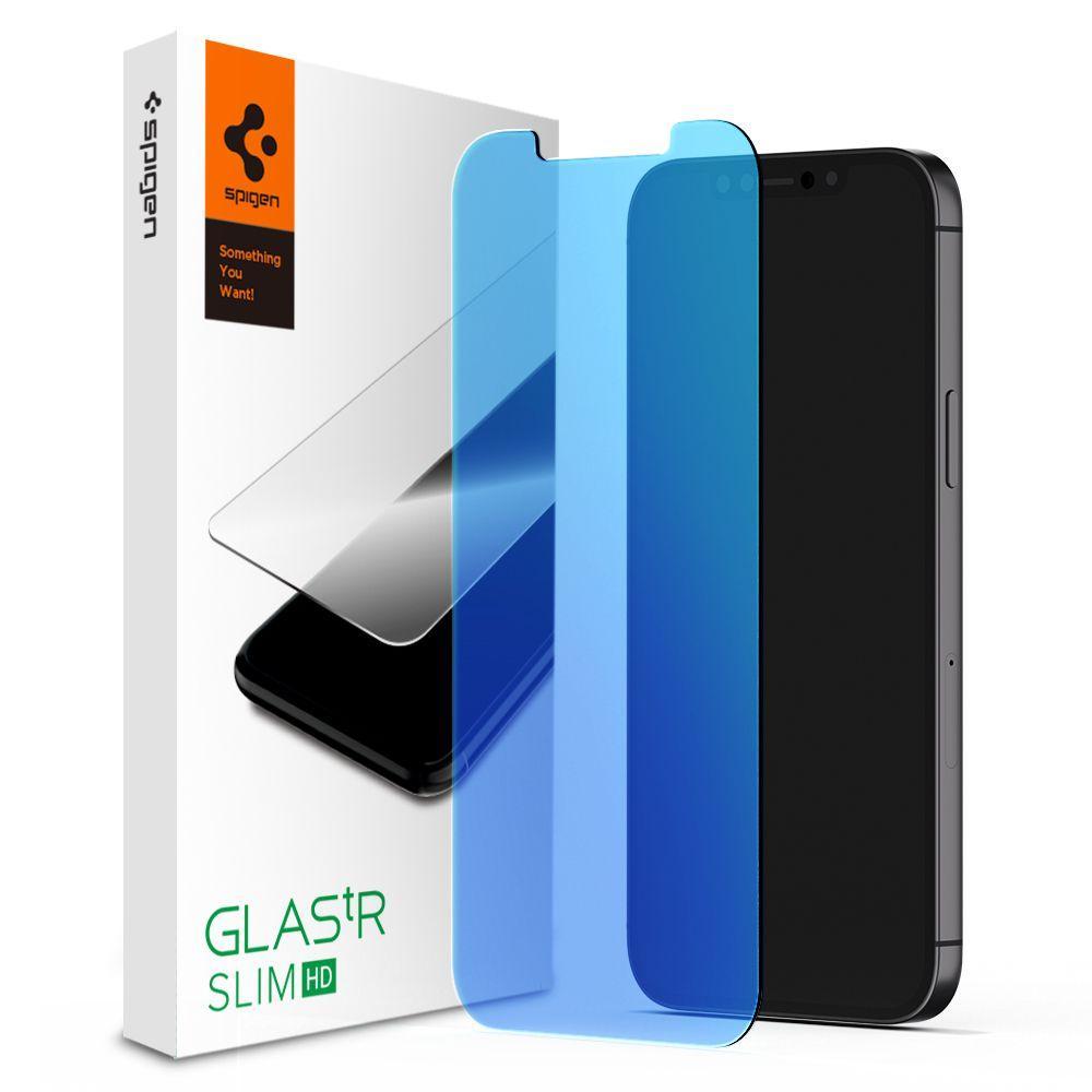 iPhone 12 Pro Max Screen Protector GLAS.tR SLIM HD Blue Light