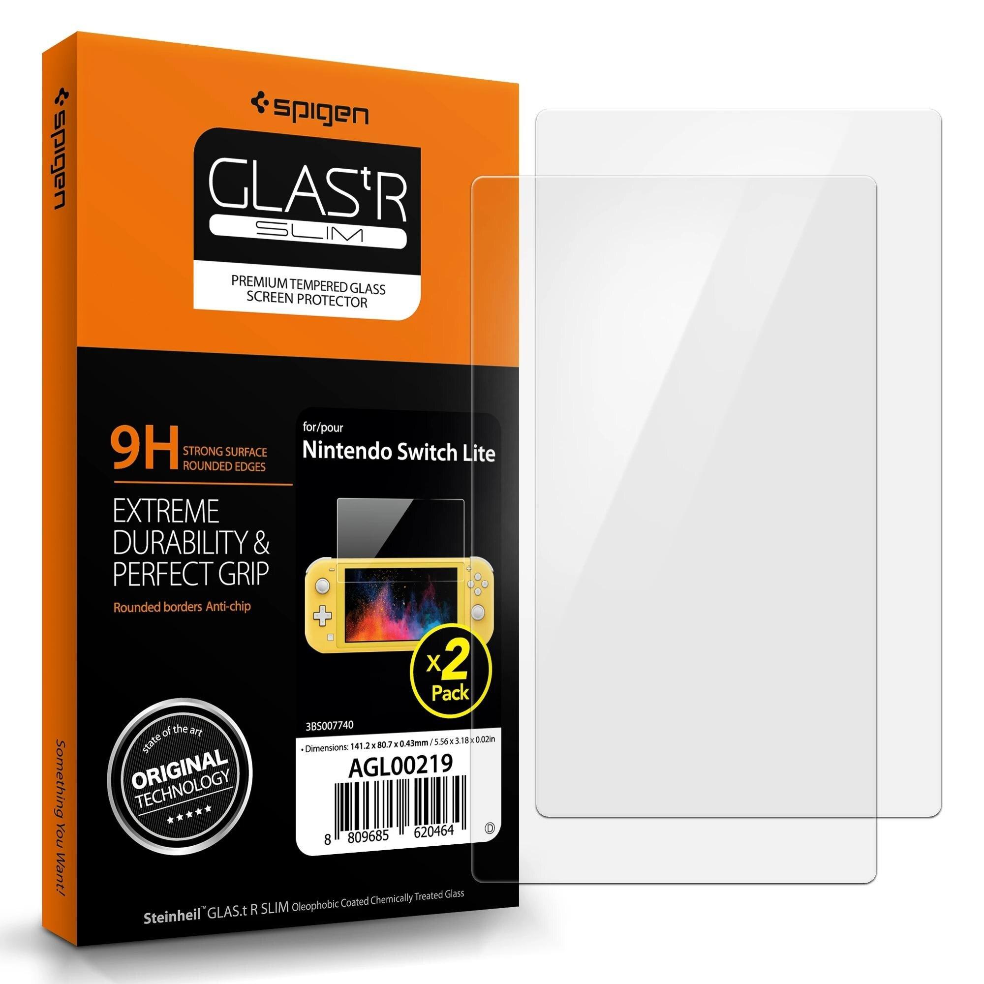 Nintendo Switch Lite Screen Protector GLAS.tR SLIM 2 Stk