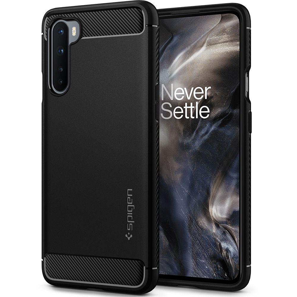 OnePlus Nord Case Rugged Armor Black