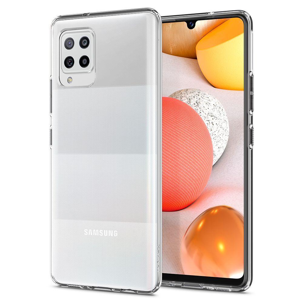 Samsung Galaxy A42 5G Case Liquid Crystal Clear