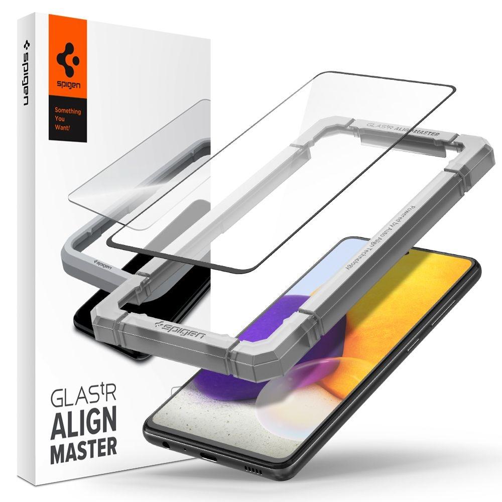 Samsung Galaxy A52/A52s AlignMaster GLAS.tR Black