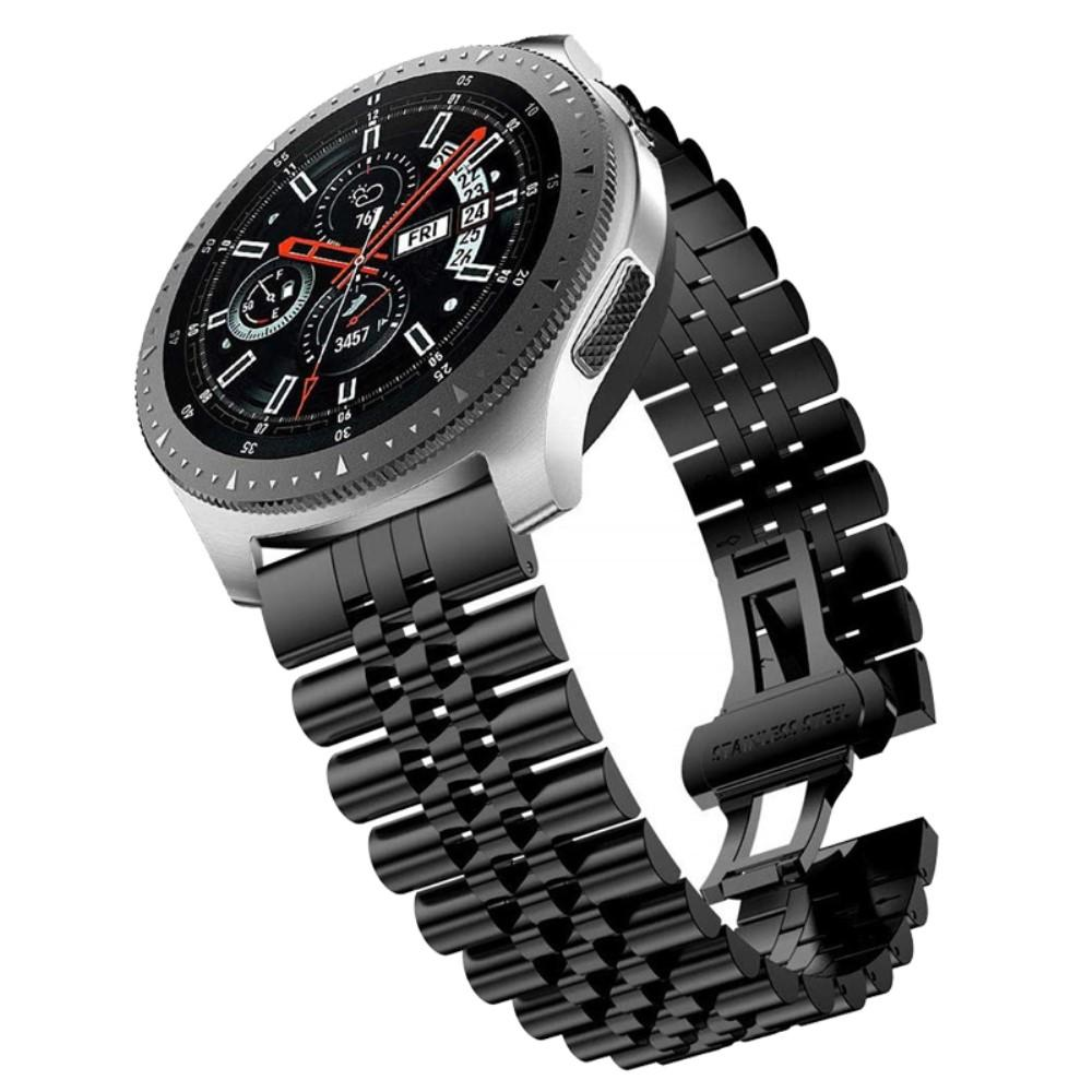 Stainless Steel Bracelet Samsung Galaxy Watch/Huawei Watch Black