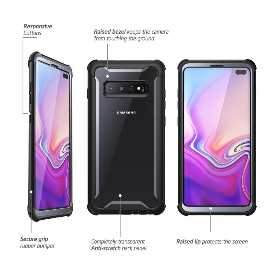 Ares Clear Case Galaxy S10 Plus Black