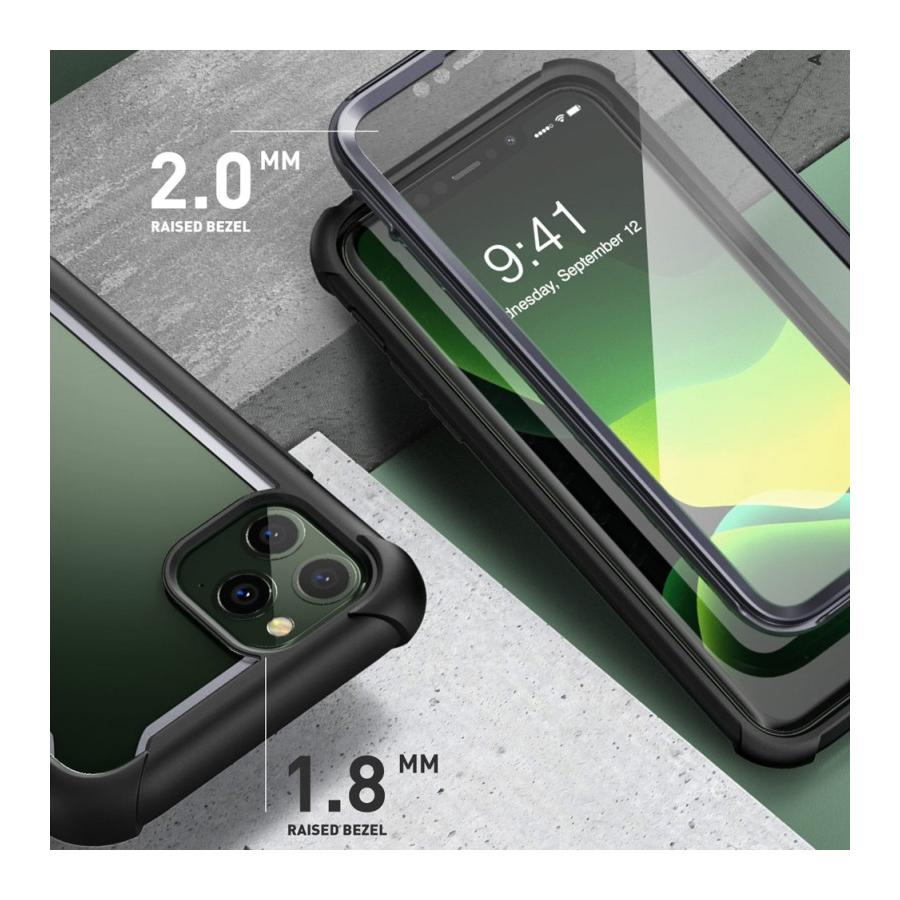 Ares Clear Case iPhone 11 Pro Max Black