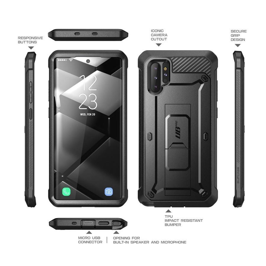 Unicorn Beetle Pro Case Galaxy Note 10 Plus Black