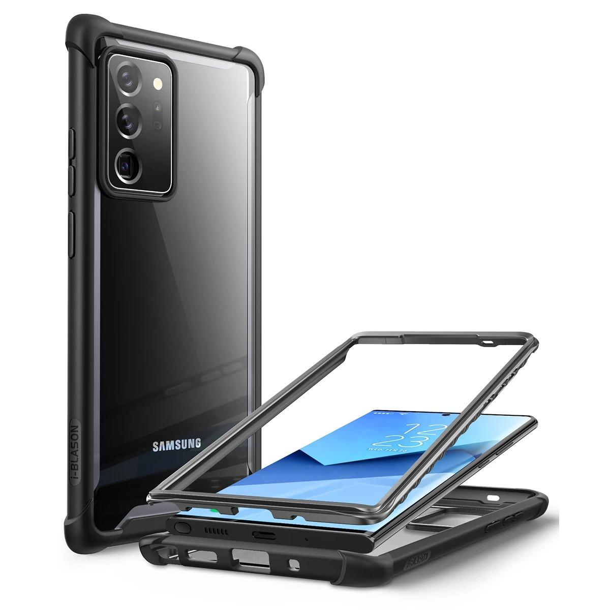 Ares Clear Case Galaxy Note 20 Ultra Black