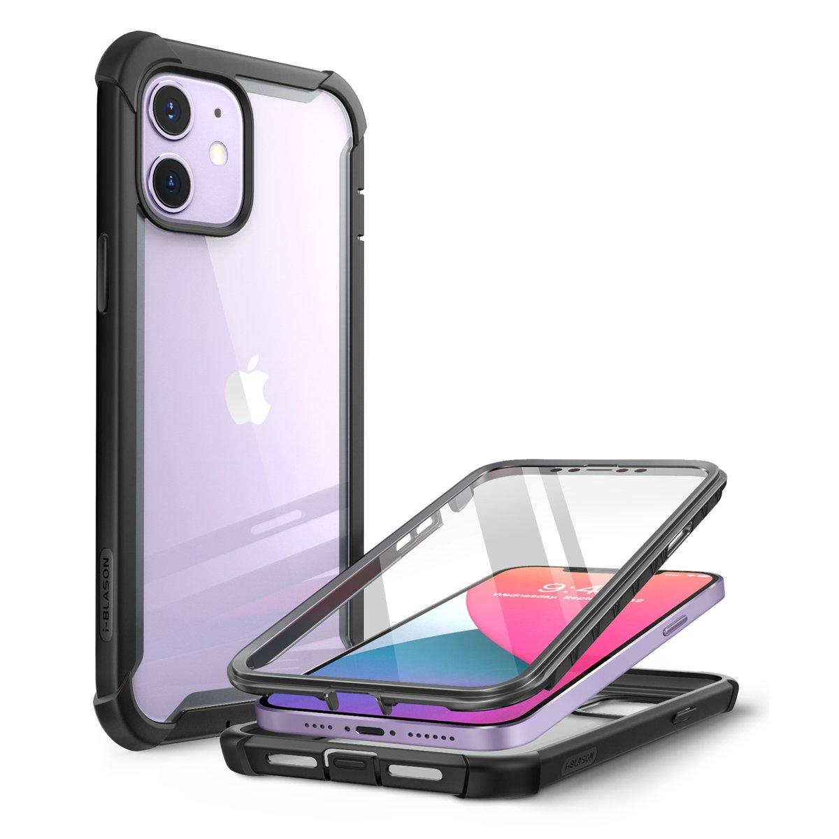 Ares Clear Case iPhone 12 Mini Black