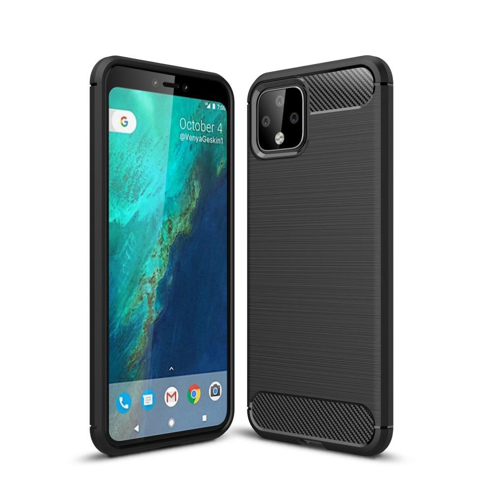 Brushed TPU Deksel Google Pixel 4 XL Black