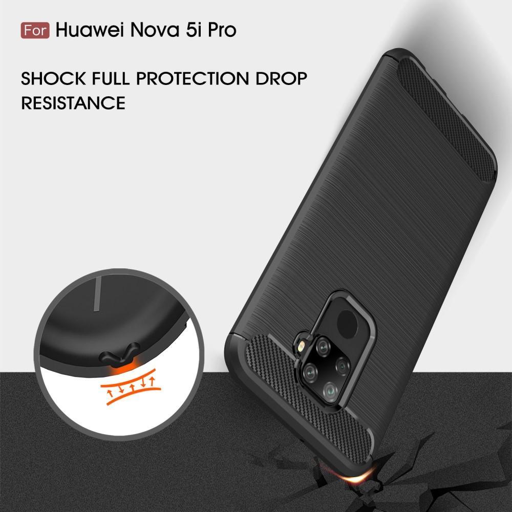 Brushed TPU Deksel Huawei Mate 30 Lite Black
