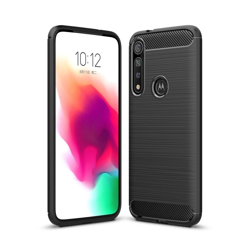 Brushed TPU Deksel Motorola Moto G8 Plus Black
