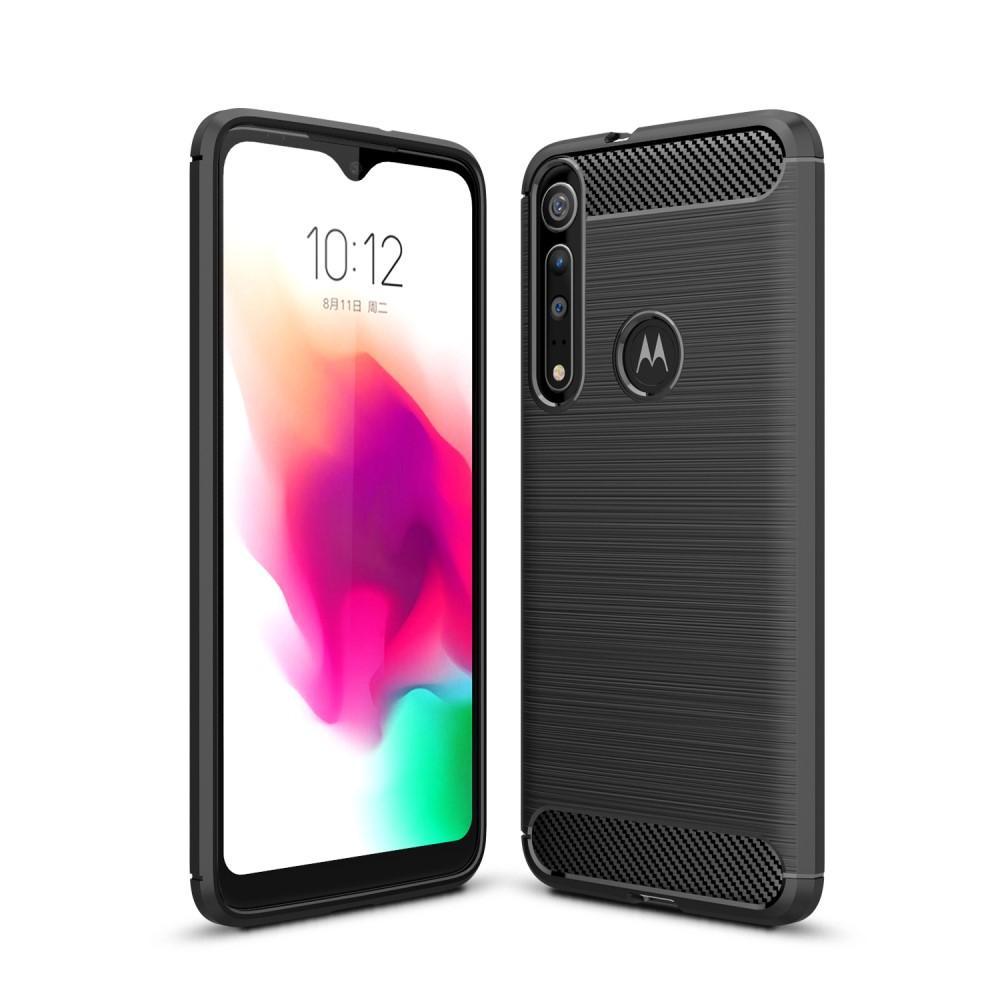 Brushed TPU Deksel Motorola One Macro Black