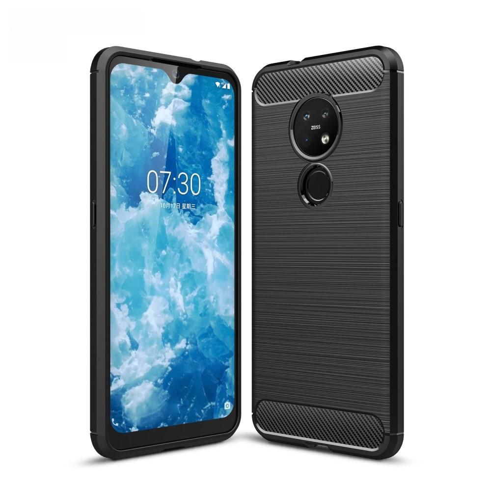 Brushed TPU Deksel Nokia 6.2/7.2 Black