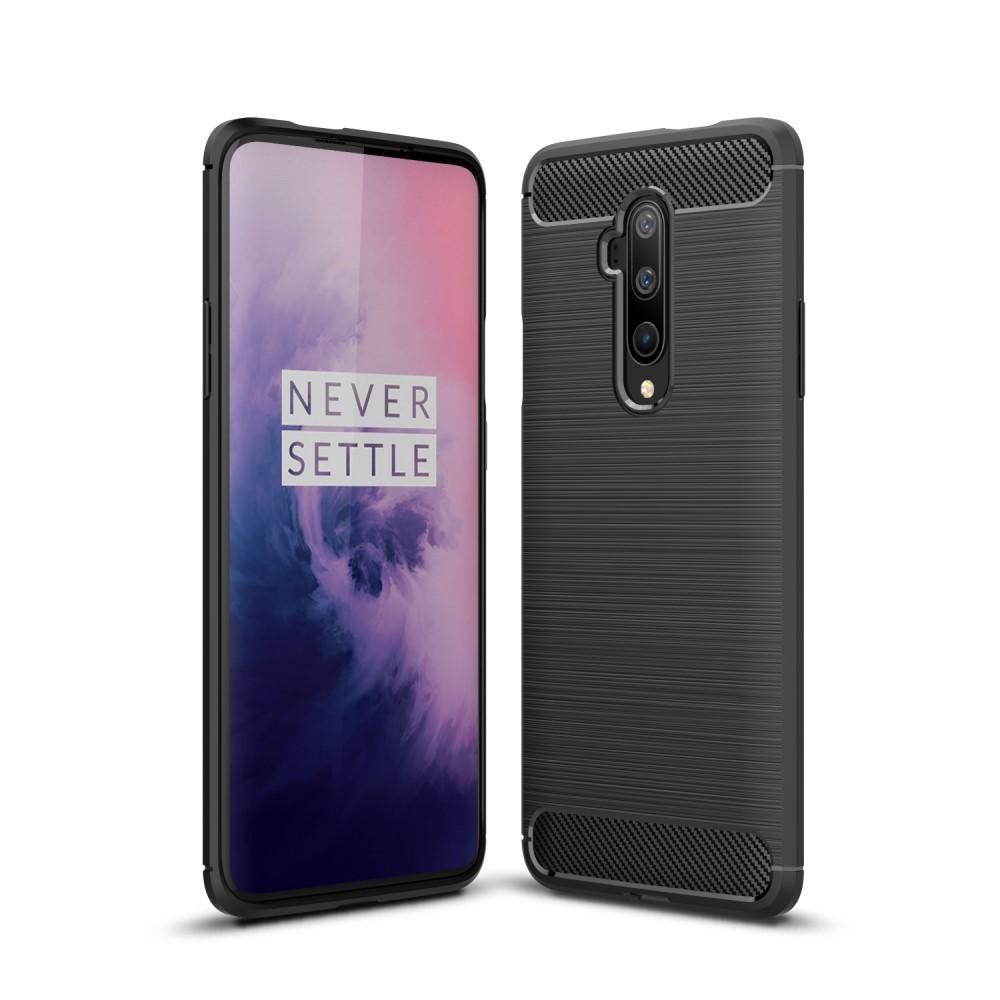 Brushed TPU Deksel OnePlus 7T Pro Black