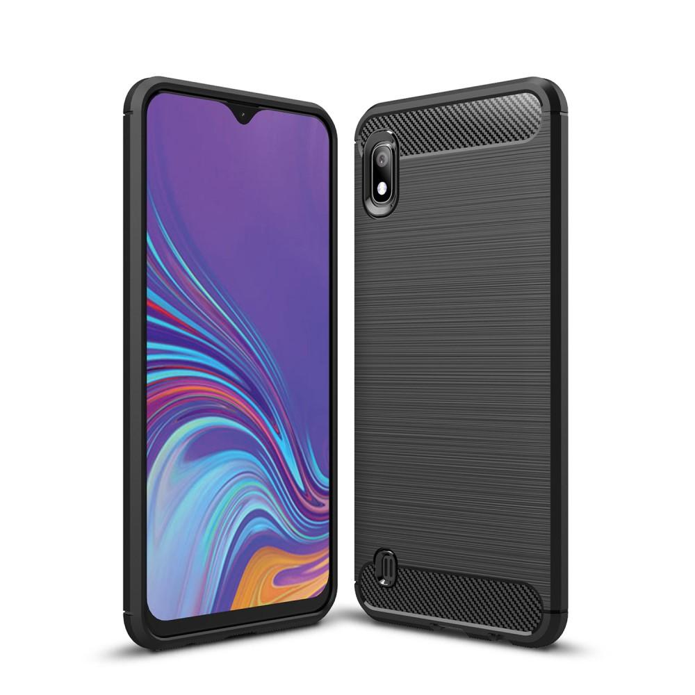 Brushed TPU Deksel Samsung Galaxy A10 Black