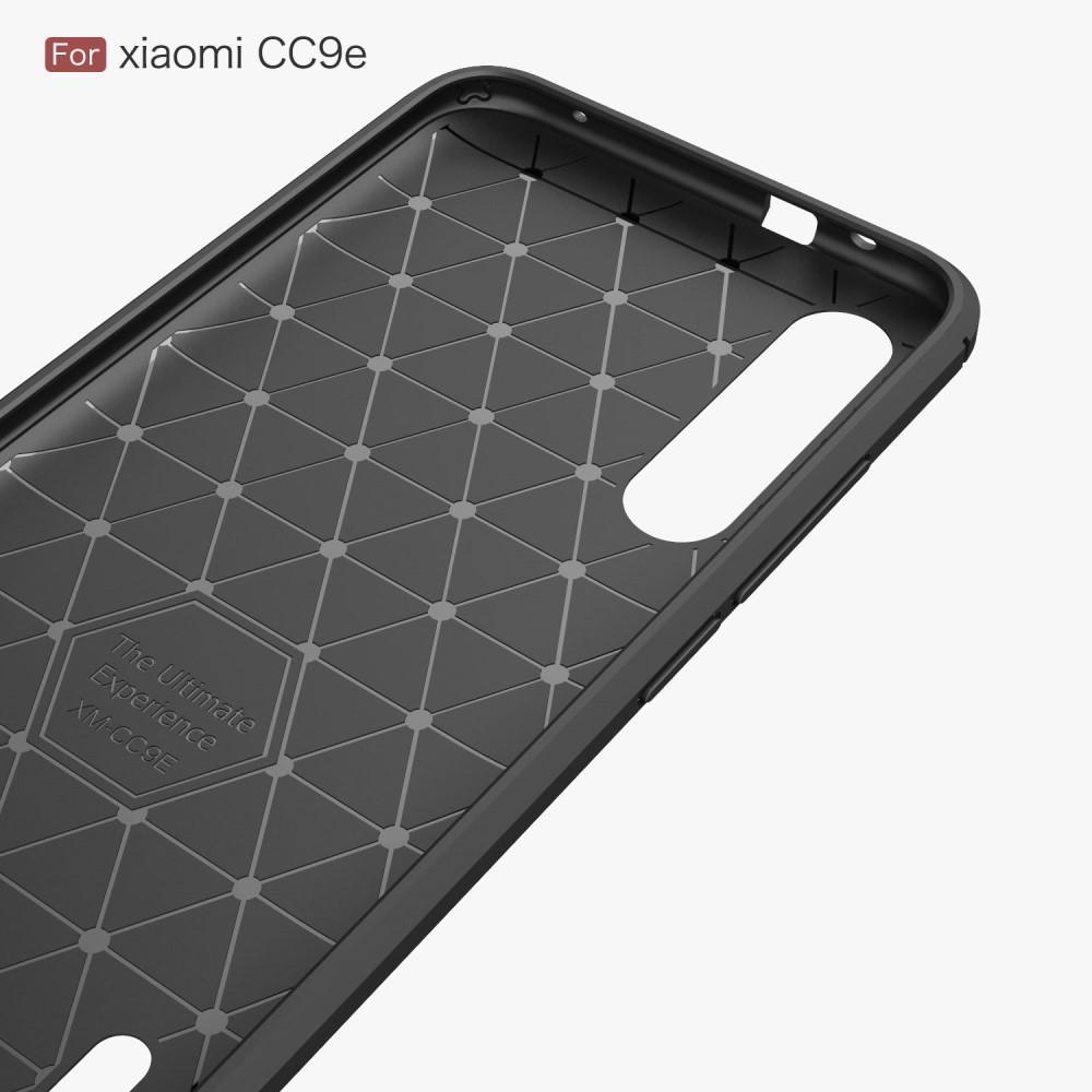 Brushed TPU Deksel Xiaomi Mi A3 Black