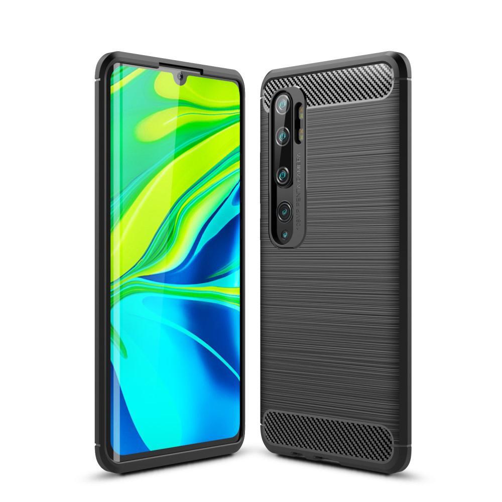 Brushed TPU Deksel Xiaomi Mi Note 10/10 Pro Black