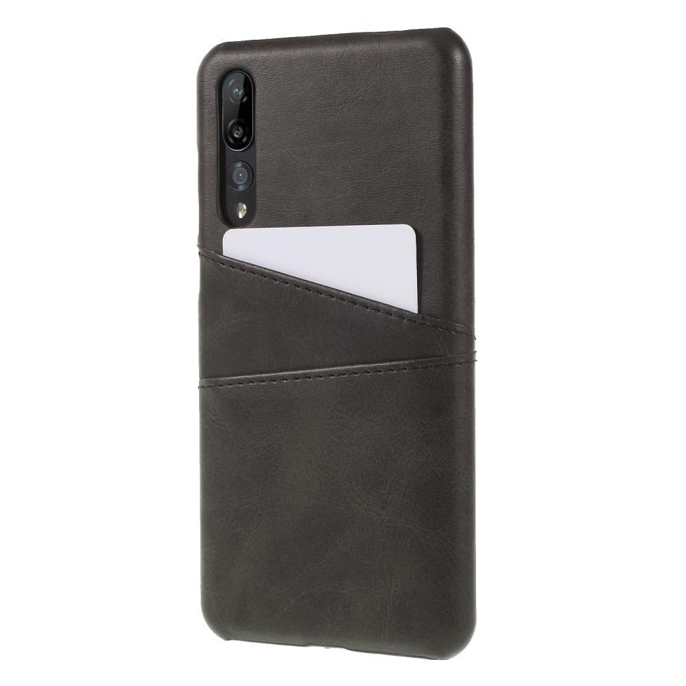 Card Slots Case Huawei P20 Pro svart