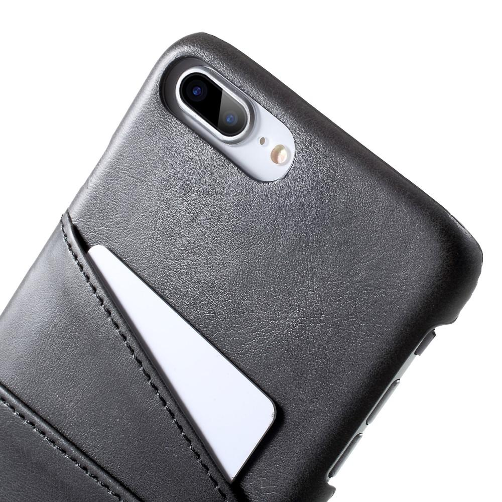 Card Slots Case iPhone 7 Plus/8 Plus svart