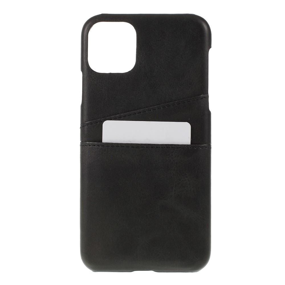 Card Slots Case iPhone 11 Pro Max svart
