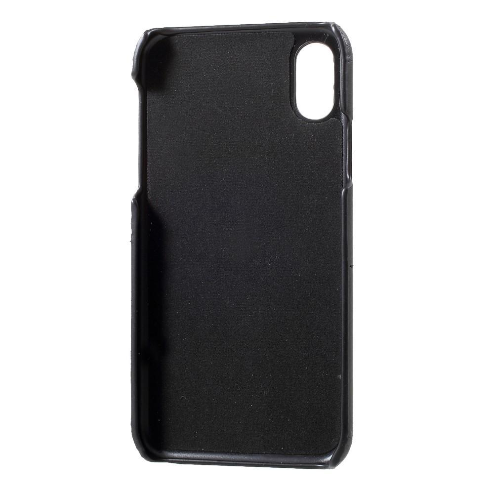 Card Slots Case iPhone X/XS svart