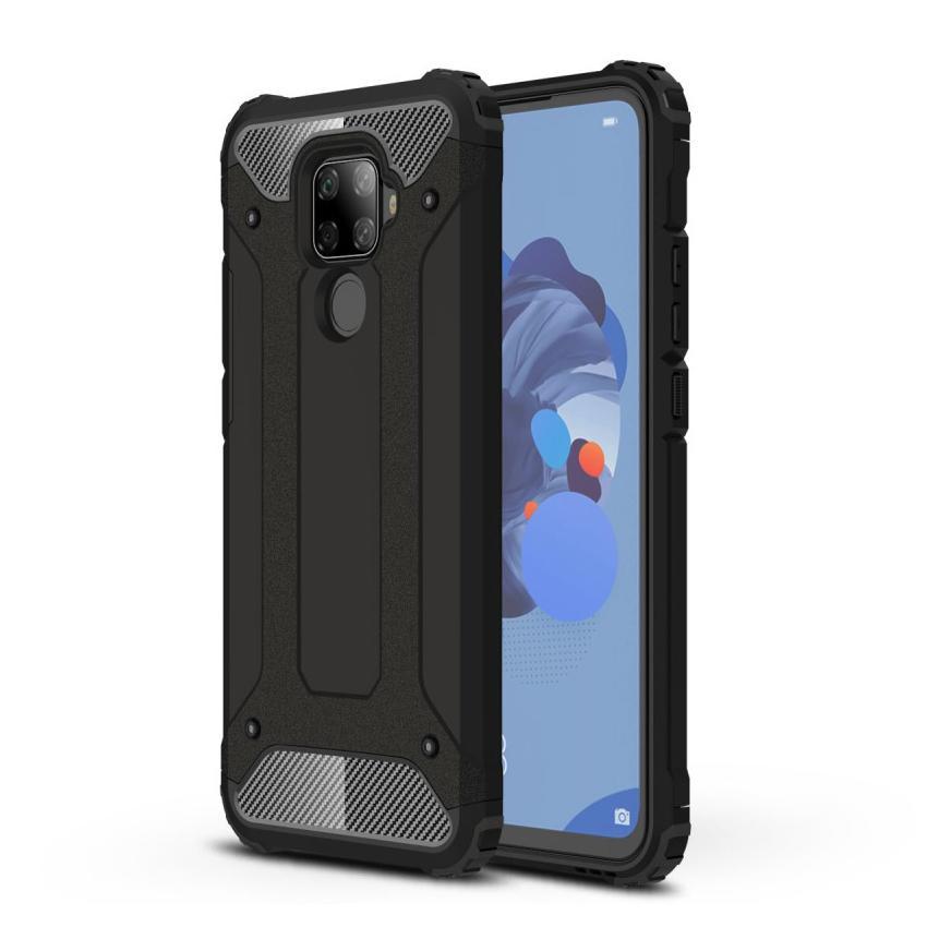 Hybriddeksel Tough Huawei Mate 30 Lite svart
