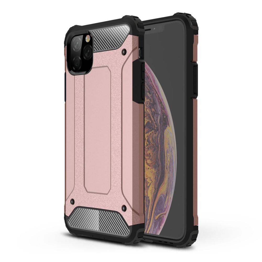 Hybriddeksel Tough iPhone 11 Pro rosegull