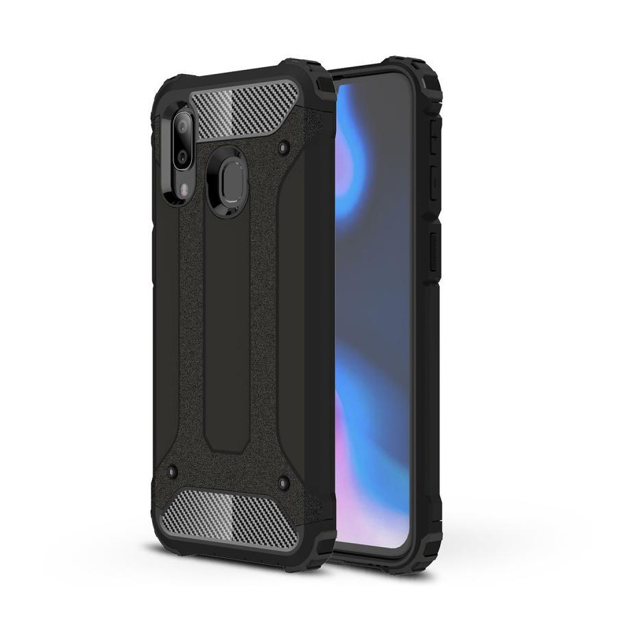 Hybriddeksel Tough Samsung Galaxy A40 svart