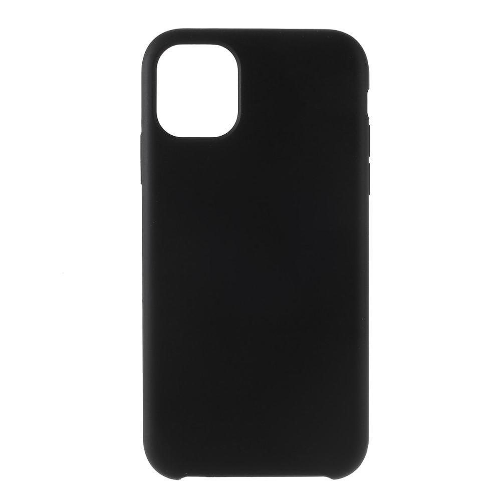 Liquid Silicone Case iPhone 11 Black