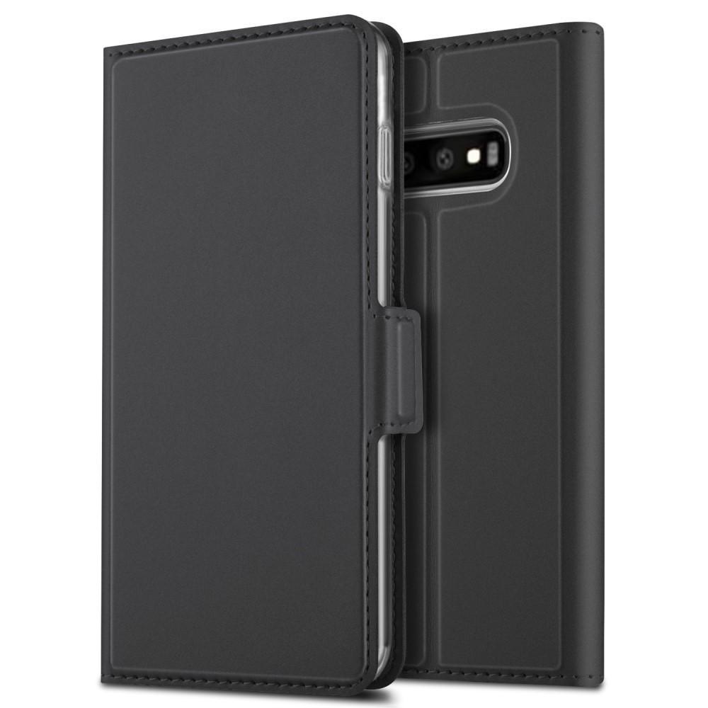 Slim Card Wallet Galaxy S10 Plus svart